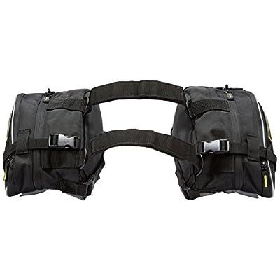 Nelson-Rigg RG-020 Black Dual Sport Motorcycle Saddlebag: Automotive