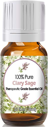 Clary Sage Essential Oil for Diffuser & Reed Diffusers (100% Pure Essential Oil) ()