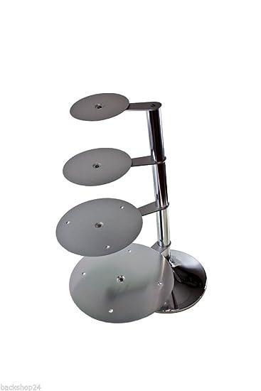 Hochzeitstortenstander Aluminium Mit 4 Platten In Spiralform