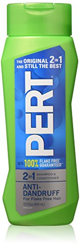 Pert Plus 2 in 1 Shampoo and Conditioner Dandruff Control 13.5 Ounces (Pack of 2)