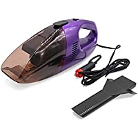 uxcell DC 12V 75W Portable Auto Car Handheld Vacuum Dirt Cleaner Dustbuster Duster Purple