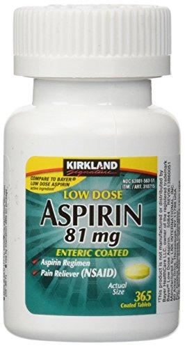 Kirkland Signature LqWsIV Low Dose Aspirin, 365 Tablets (2 Pack) by Kirklanv SignaturS