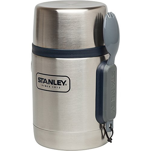 Stanley 10-01287-021 Adventure Vacuum Food Jar, Stainless Steel, 18 oz