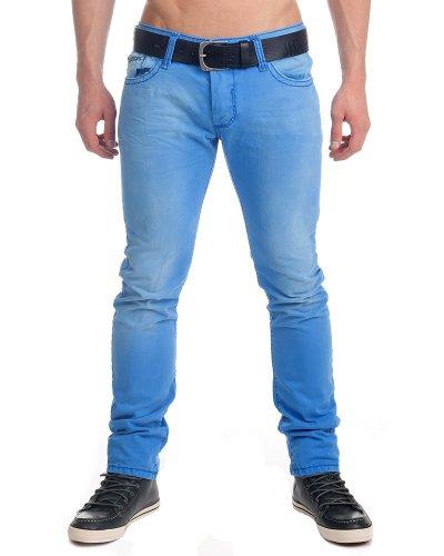 Redbridge by Cipo & Baxx Herren Röhren Jeans Hose 8673 R-191 Größe W28 - W34, blau