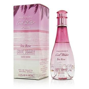 Davidoff cool water sea rose exotic summer eau de toilette spray for women 34 ounce