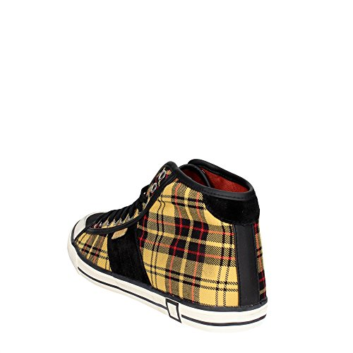 D.a.t.e. Tender High-A Hoch Sneakers Herren Schwarz/Gelb