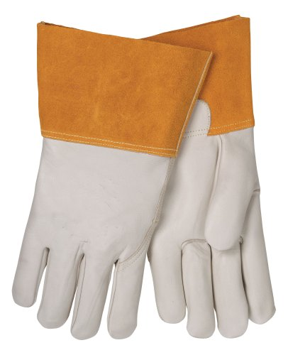 Tillman 1355S Economy Unlined Cowhide MIG Welding Gloves 4