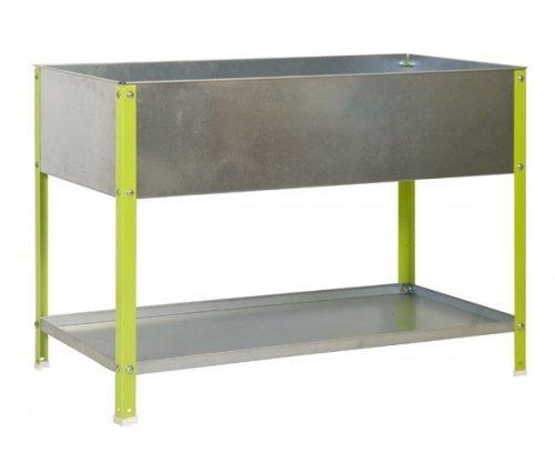 ontra GmbH Mesa de siembra Bancal 85 x 90 x 40 100L galvanizado ...