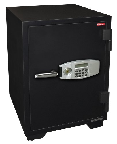- Honeywell Safes & Door Locks - 2116 Steel 2 Hour Fireproof and Water Resistant Security Safe with Dual Digital Lock and Key Protection, 2.35-Cubic Feet, Black