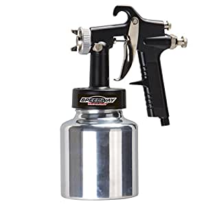 spray gun paint pressure latex sprayers speedway guns low lvlp sprayer air pneumatic volume husky siphon household painting finish compressor