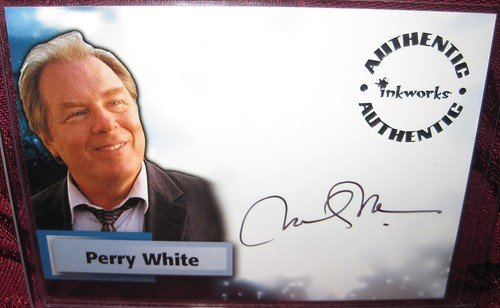 Smallville Michael McKean as Perry White Autograph Trading Card #A18