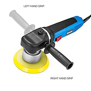 Anesty 6 Inch Variable-Speed Random Orbital Polisher 7 Amp Power Dual Action Polisher with Polishing Pad (Hook & Loop)