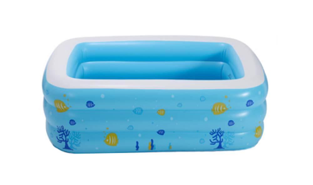 JP bathtub JPYG Aufblasbare Badewanne, Haushalt Verdickung aufgepumpt Angeln Teich Erwachsenen Kunststoff Familie Badewanne tragbar (größe   262cm)