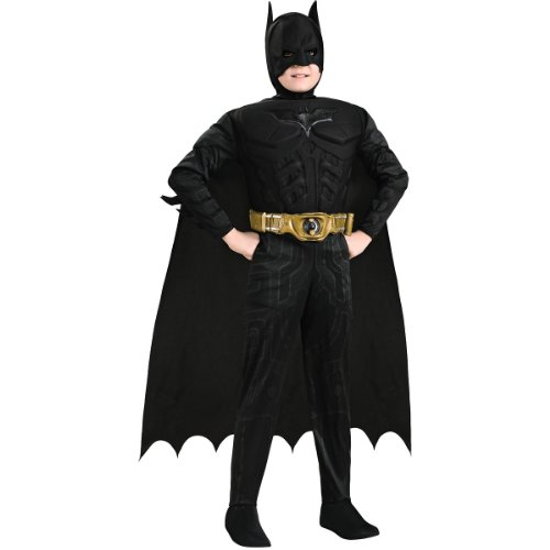 Rubie's Costume Co Deluxe Muscle Chest Batman Costume, Toddler, Toddler - Toddler Muscle Batman Costumes