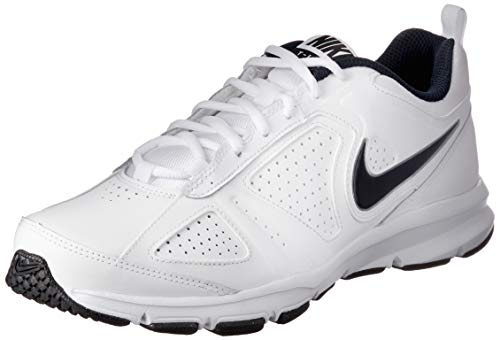 (Nike Men's T-Lite XI White/Black/Obsidian 7 D - Medium)