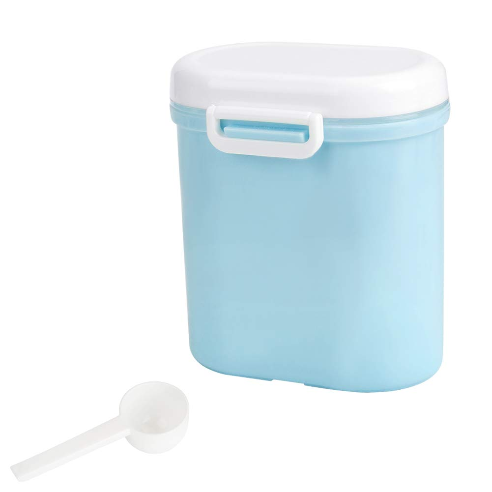 Accmor Portable Formula Dispenser with Scoop, BPA Free Milk Powder Container, Baby Food Storage, Candy Fruit Box, Snack Containers, for Infant Toddler Children Travel