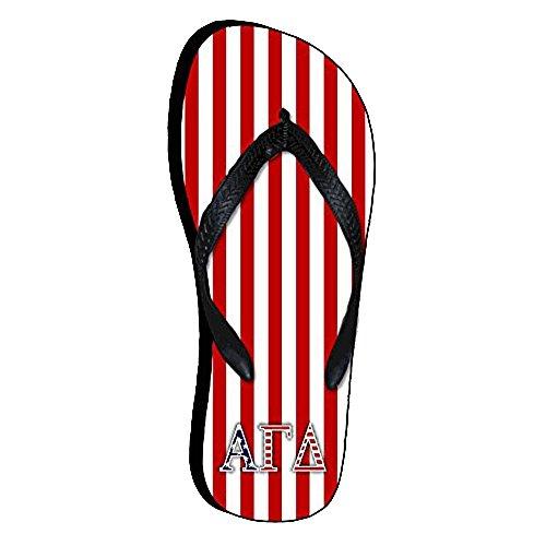 Alfa Gamma-delta Amerikanska Flaggan Flip Flops