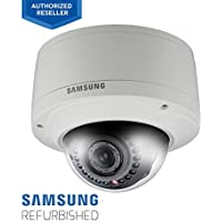 Samsung SNV-5080R 720p HD Monitoring Security Network PoE Dome Camera for Outdoor (Manufacturer Refurbished)