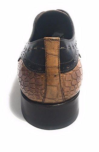 Harris Zapatos de Cordones de Piel Para Hombre Cocco/Crosta Di Pane/Blu 39 Size: 39 lrQfFt