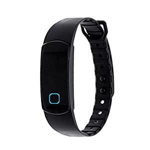 Zunammy Wireless Waterproof Activity Fitness Tracker Watch - Black (See More Colors)