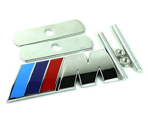 jingxi-technology-b037-car-styling-accessories-chromed-emblem-badge-decal-sticker-m-front-grille-blu