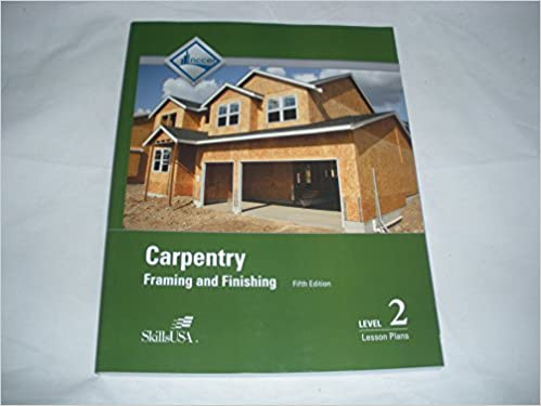 Lesson Plans For Carpentry Level 2 5th Edition NCCER