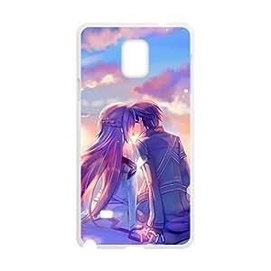 Beautiful romantic lover Cell Phone Case for Samsung Galaxy Note4 WANGJING JINDA