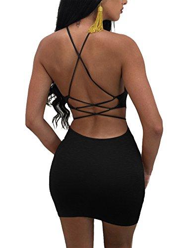 mini dress backless - 4