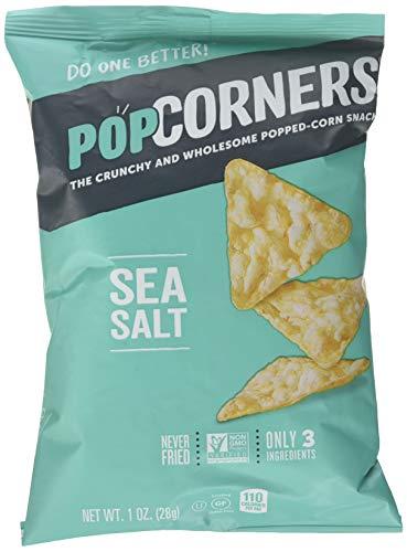 (Popcorners Sea Salt Popcorn Chips 1.1 oz. (Pack of 8))