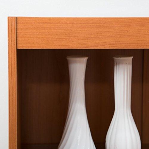 Finley Home Remmington Heavy Duty Bookcase – Oak