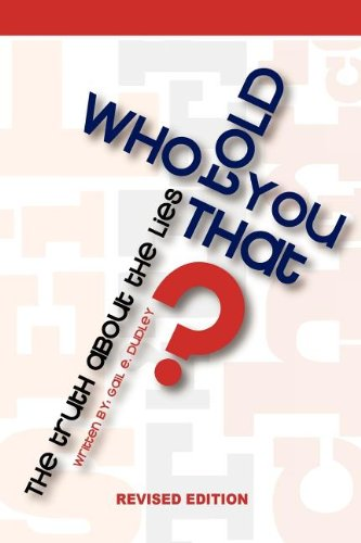 Download Who Told You That pdf