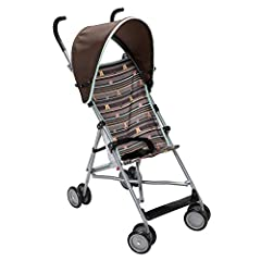 Add some Disney magic to your daily walk with the Disney Baby My Hunny Stripes Winnie-the-Pooh Umbrella Stroller with Canopy. Featuring a fun, Disney theme, this stroller will keep parents and kids grinning from ear to ear. The stroller featu...