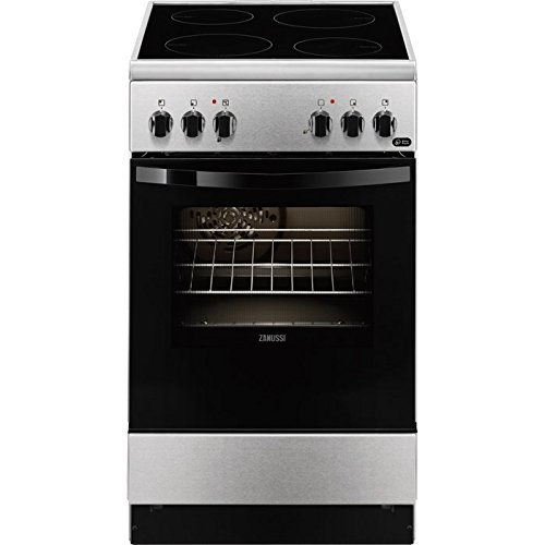 Zanussi ZCV550G1XA Independiente A Negro, Acero inoxidable ...