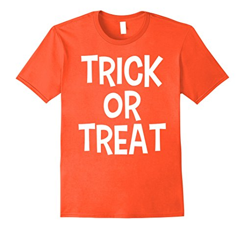 Mens Trick or Treat - Matching Couples Halloween Shirt 3XL (Matching Couple Outfits For Halloween)