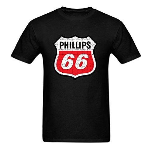 Eurpeck Phillips 66 Series Mens T Shrits L Black