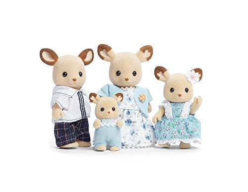 Calico Critters Buckley Deer Family (Furniture Sale Calico Sets Critters)