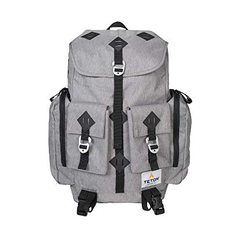 TETON Sports Juno Canvas Backpack for Travel; Daypack for School, Work and Hiking ()