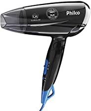 Secador de cabelo, Skull pro travel Psc07p, 1200w, Preto, Bivolt, Philco