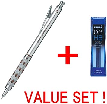0.4 Nano Dia Uni Mechanical Pencil Lead 2B : Choice of 0.3 0.7 /& 0.9mm 0.5