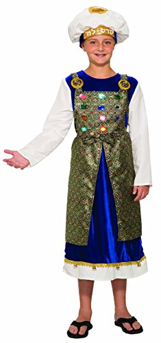 Forum Novelties Unisex-Children Kohen Gadol Child's Costume, Gold, Large -