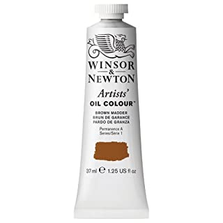 Winsor & Newton Artists Oil Colour Paint, 37-ml Tube, Brown Madder