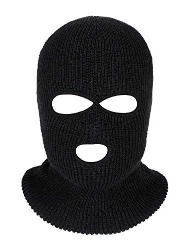 c8f3a439175d Satinior 3-Hole Knitted Full Face Cover Ski Mask