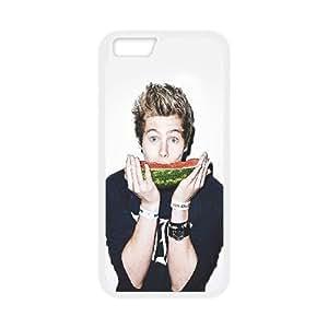 iPhone 6 Plus 5.5 Inch Cell Phone Case White hb03 5sos luke hemmings music Kzybs