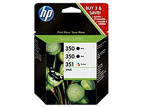 Amazon.com: HP 350/350/351 Cartuchos De Impresión Para ...