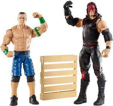 WWE Series 19 Battle Pack: John Cena vs. Kane Figure, 2-Pack by WWE