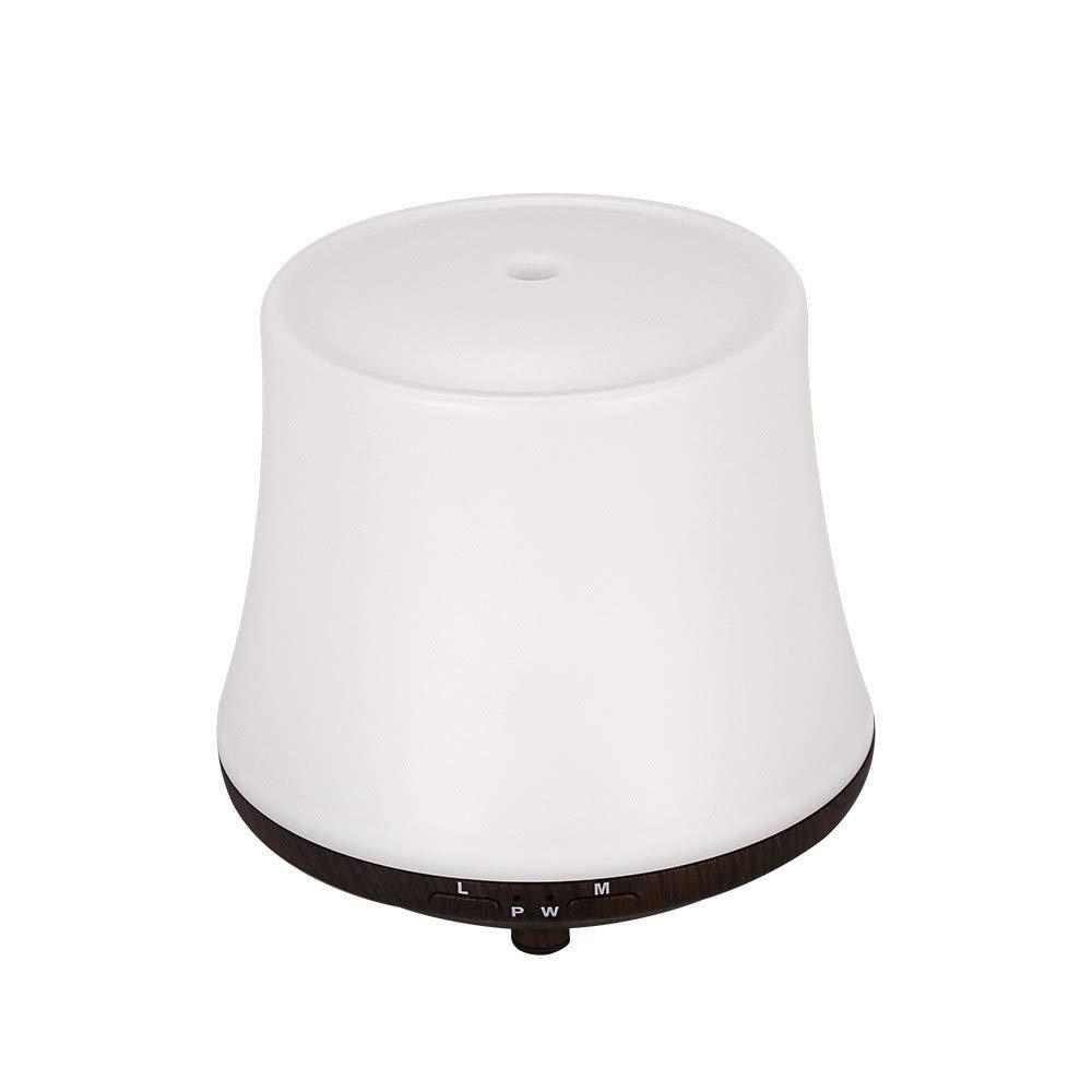 QVIE 100Ml Ultrasonic Wood Grain Essential Oil Aromatherapy Machine Humidifier