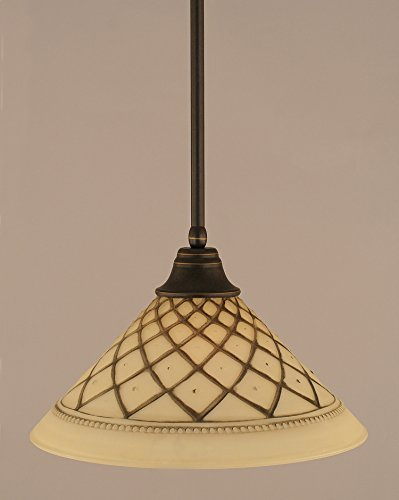 - Toltec Lighting 26-DG-718 Stem Pendant with Hang Straight Swivel with 16