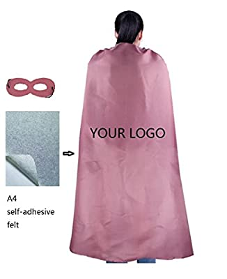 RANAVY DIY Hero Capes For Adult -Superhero Party Costumes Unisex 140CM