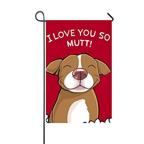 Field tree Set for Outdoors Seasonal Garden Flag Unisex Pitbull | Assortment of 12-inch x 18-inch Flags, Durable Review