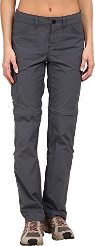 Mountain Hardwear Women's Mirada Convertible Pants, Graphite, 2x34